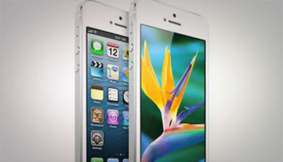 No change in iPhone 5 official pricing in India