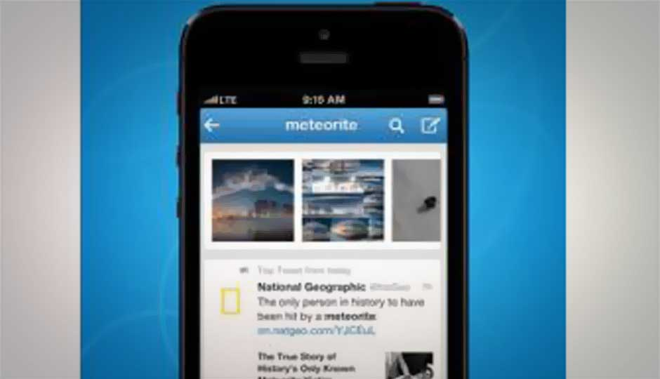 Twitter updates its mobile apps; adds better search, improved browsing