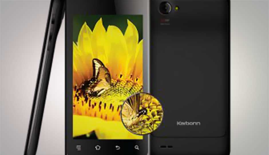 Karbonn Retina A27 launched at Rs. 9,090, with 4.3-inch qHD IPS display