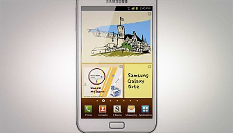 Samsung Galaxy Note III reportedly coming with a 5.9-inch display