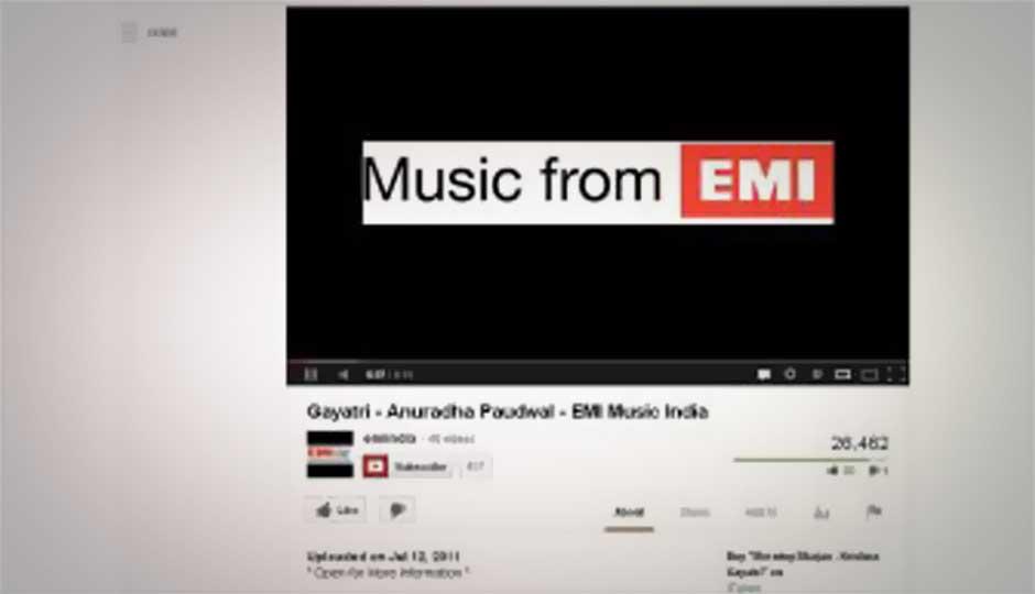 YouTube offers click-to-buy music from Flipkart's Flyte store