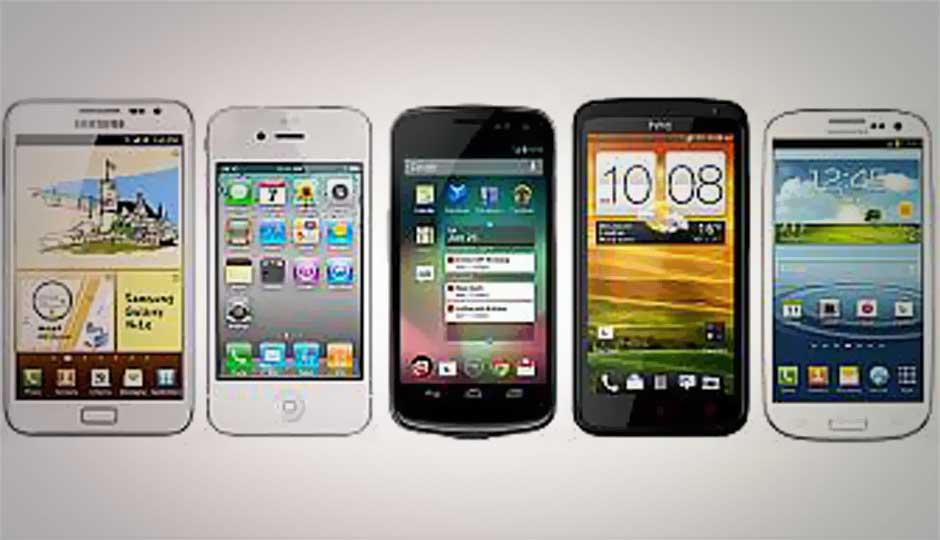 Top five smartphones under Rs. 30,000 (up to April 2013)