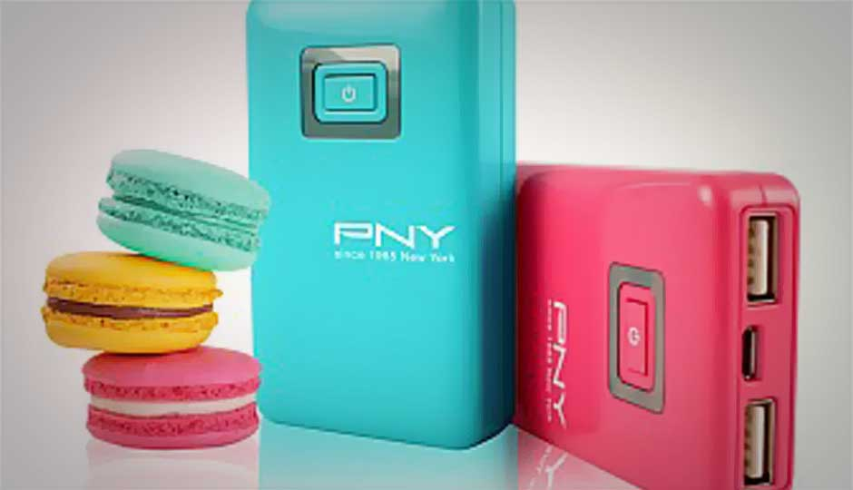 PNY launches Macroon Power Bank C51 at Rs. 2,500