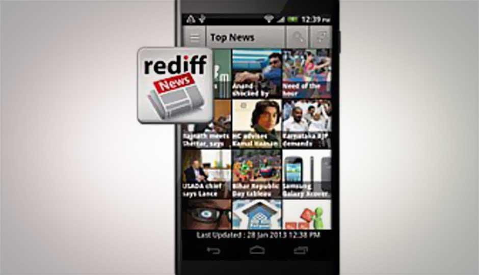 Rediff.com launches new Rediff News app