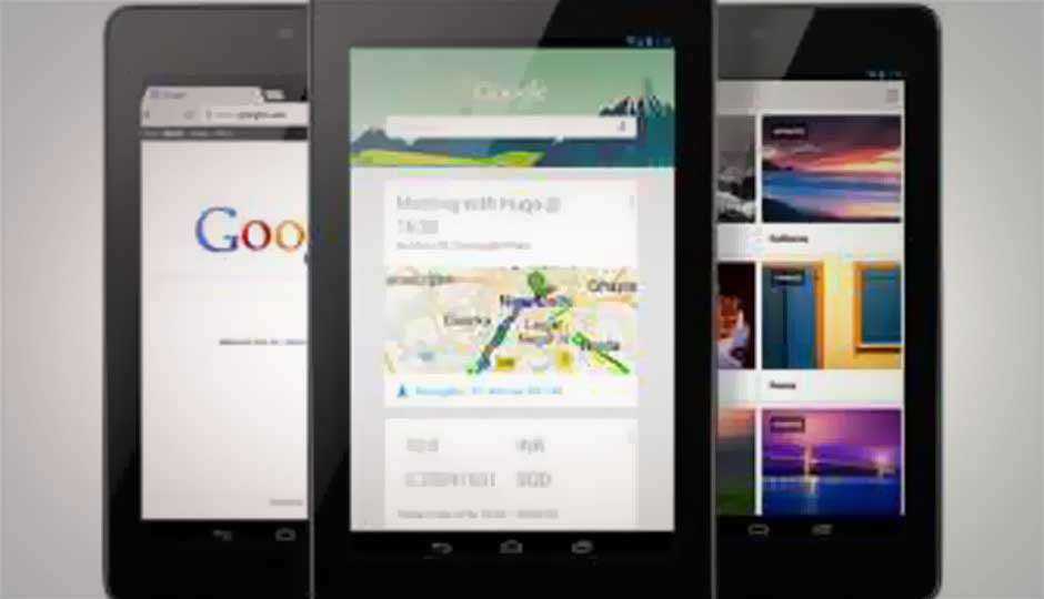 32GB Nexus 7 now available via Google Play store at Rs. 18,999