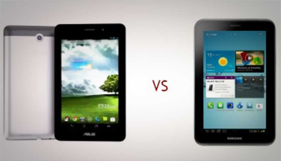 Asus FonePad vs. Samsung Galaxy Tab 2: Voice-calling tablets compared