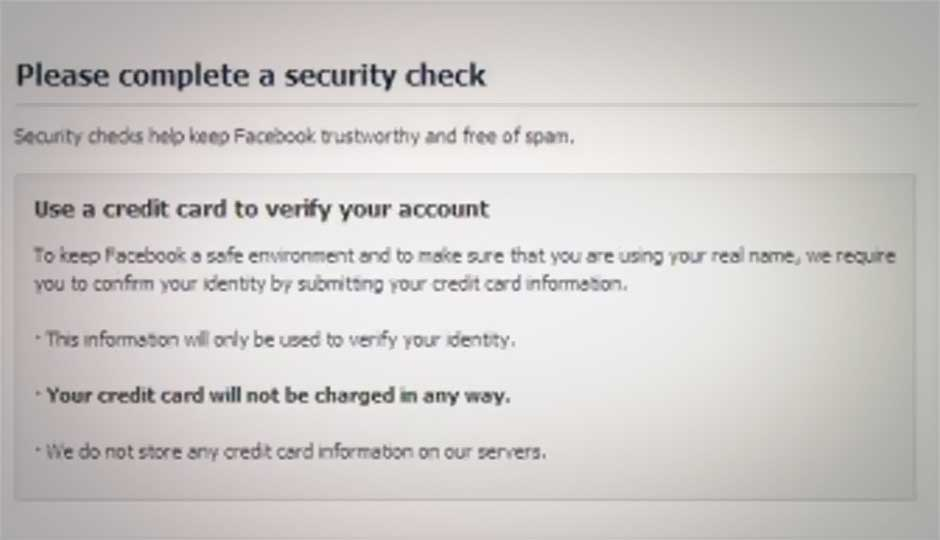 Malware phishing with fake Facebook security check page detected