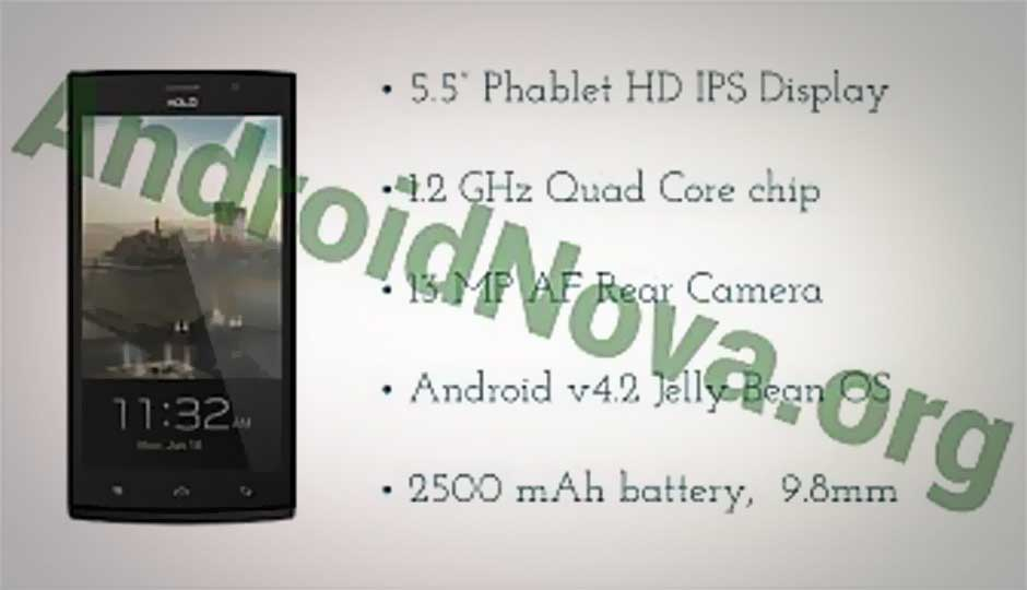 Xolo Q2000 quad-core Jelly Bean 5.5-inch phablet leaked online