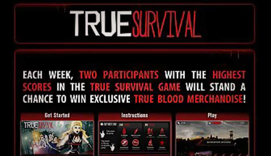 HBO launches True Blood: True Survival Facebook game
