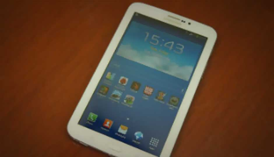 Samsung Galaxy Tab 3 T211 Price In India Specification