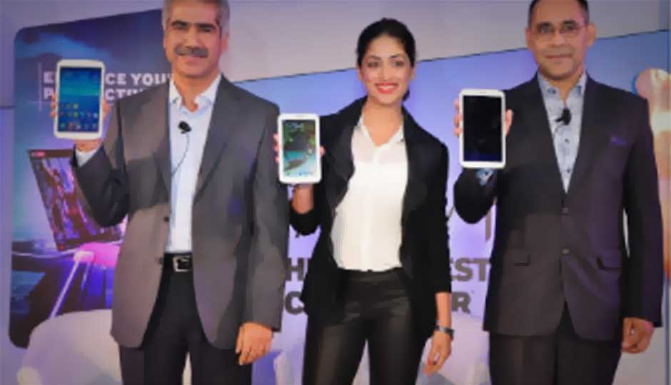 Samsung launches three new Galaxy Tab 3 Android tablets in India