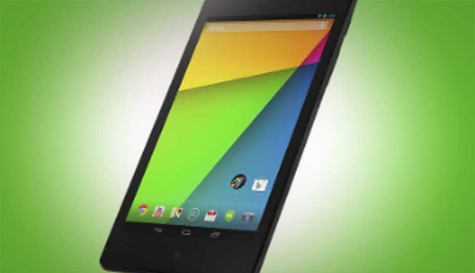2nd-gen Google Nexus 7 compared with competing tablets