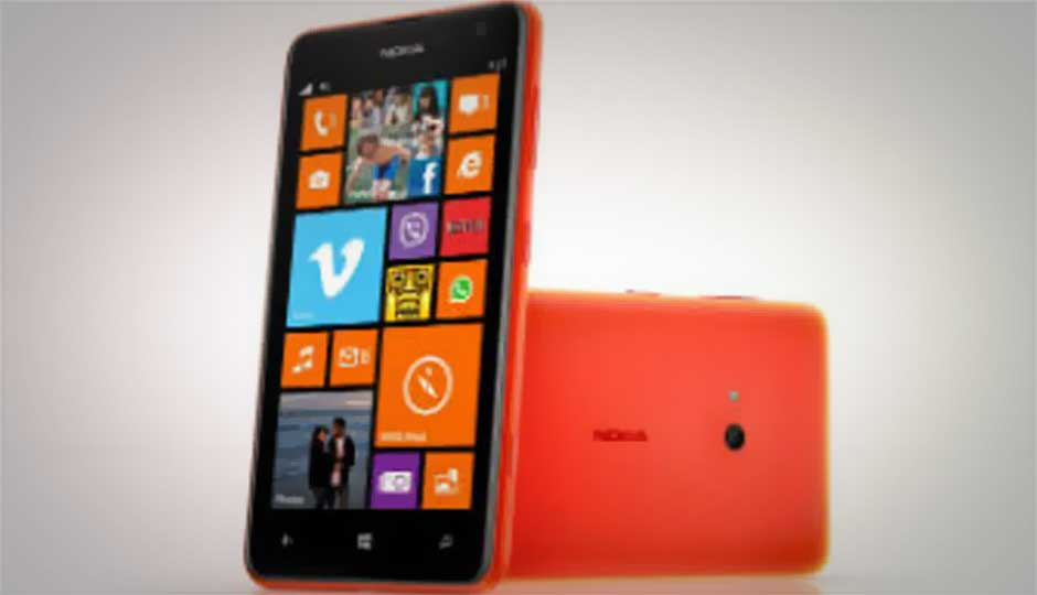 Hands on with the Nokia Lumia 625