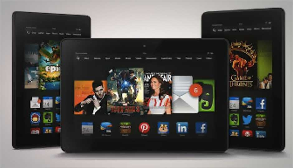 Amazon Kindle Fire HDX Android tablets versus the competition