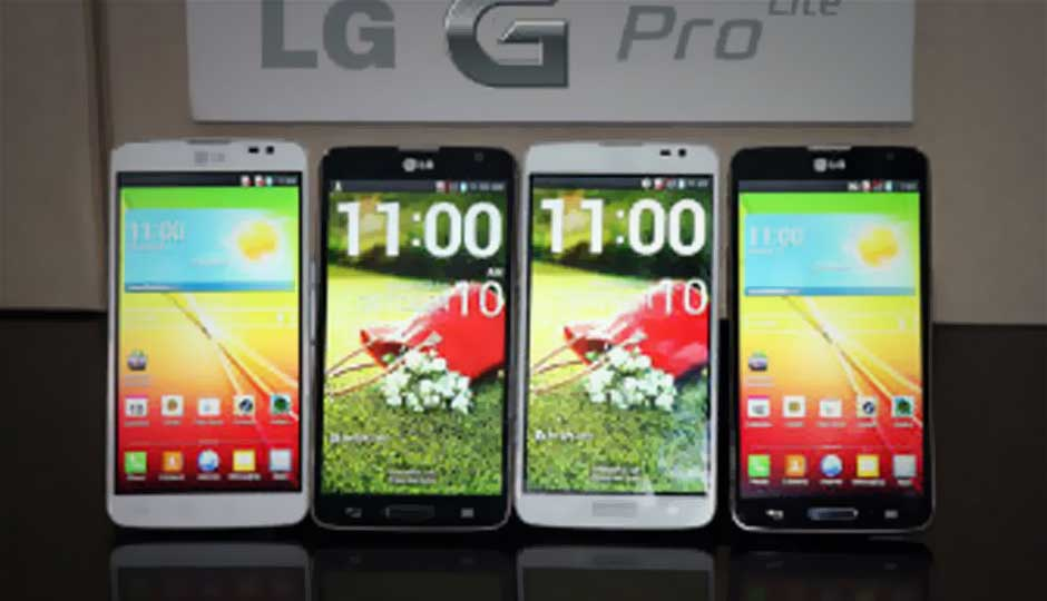 LG unveils the G Pro Lite Android smartphone