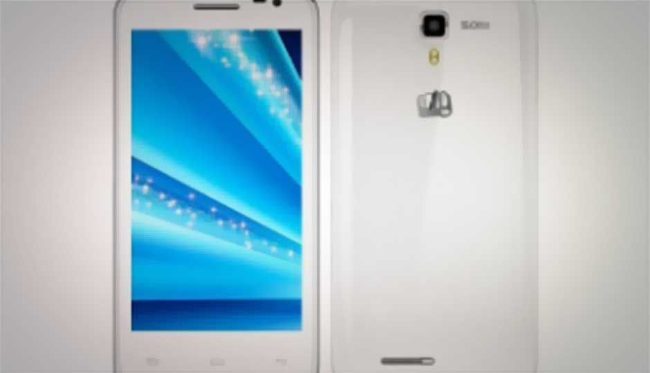 Micromax A77 Canvas Juice, 5-inch Android phablet listed online for Rs.7,999