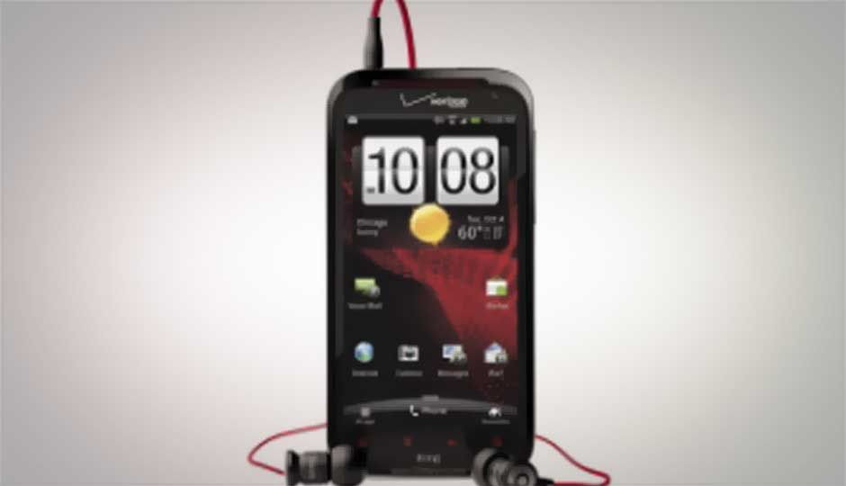 HTC Rezound with Beats Audio unveiled, with 1280x720 pixel display