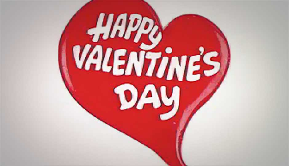 Send Valentine's Day greetings, messages, SMSes