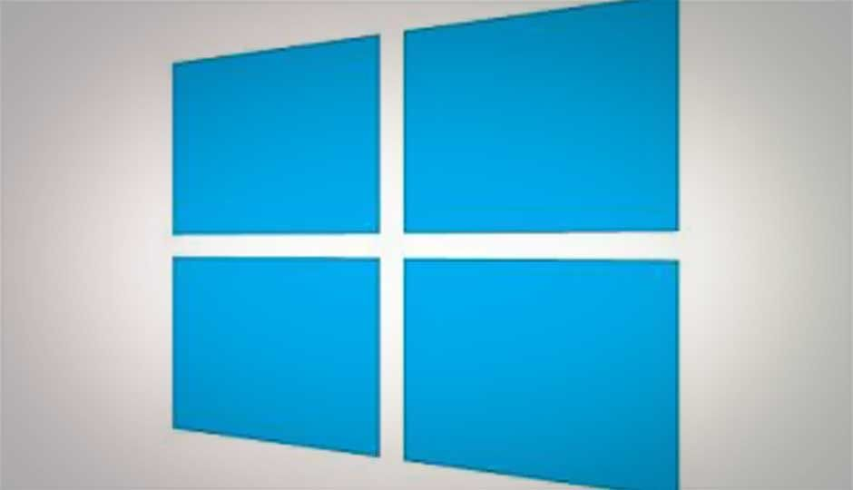 Microsoft unveils bland, blue Windows 8 logo