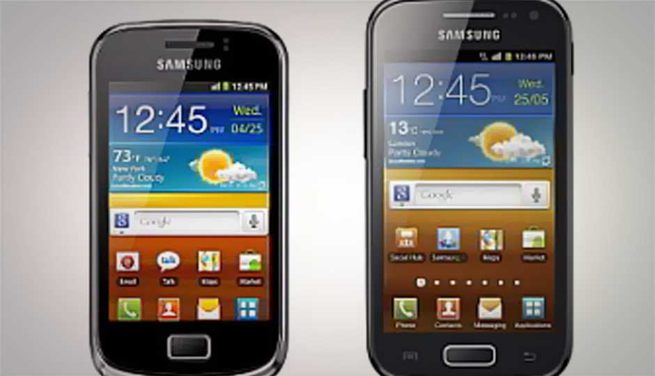 Samsung announces Galaxy Ace 2 and Galaxy mini 2