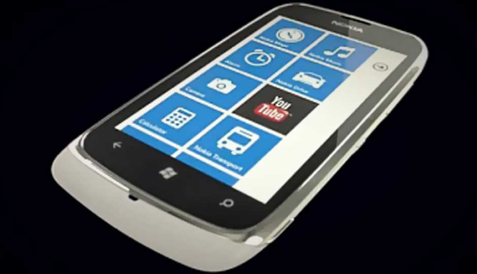 Nokia to launch Lumia 610 in India for Rs. 11,000: Report