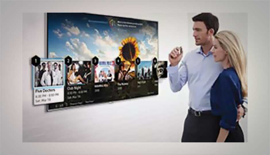 Samsung's Smart TV 2014 line up to support finger gesture control
