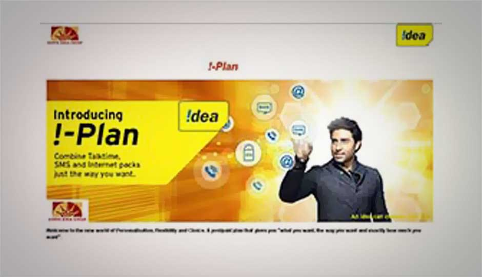 Idea Cellular launches i-Plan, lets you customise your postpaid mobile plans