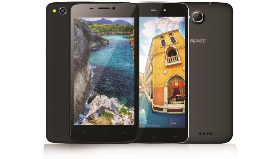 Gionee launches Pioneer P5L, CTRL V6L LTE phones in India