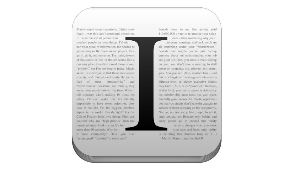 How to use Instapaper