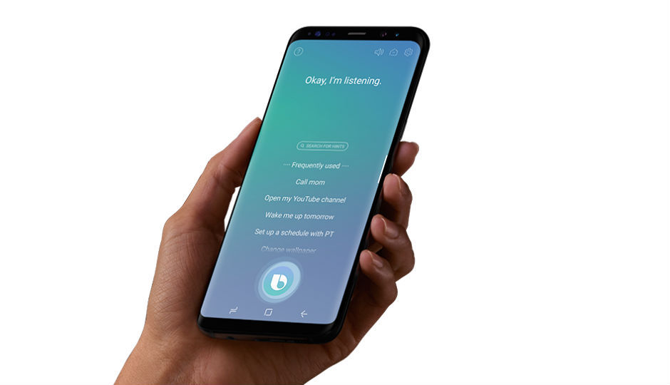 Image result for samsung bixby voice in india