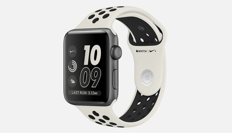 Apple Watch NikeLab with limited edition light bone/black band la...