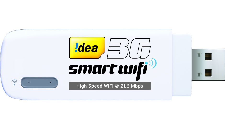 idea smart wifi 3g dongle launched at rs 2 199. Black Bedroom Furniture Sets. Home Design Ideas
