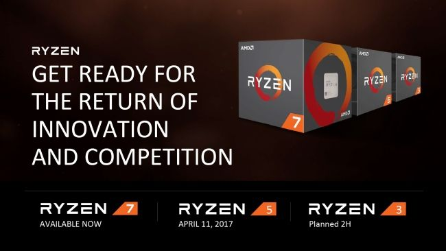 AMD Ryzen 5 CPUs Launch release pricing