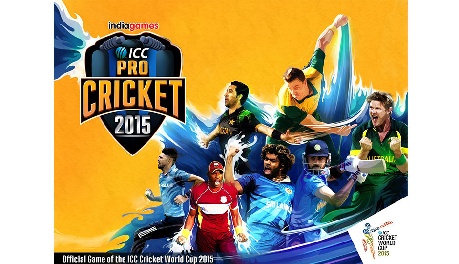India launches ICC Pro Cricket 2015 official World Cup game | Digit.in ...