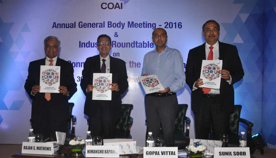 Indian telecom sector clocking  single digit growth due to high digital illiteracy rates : COAI - Digit