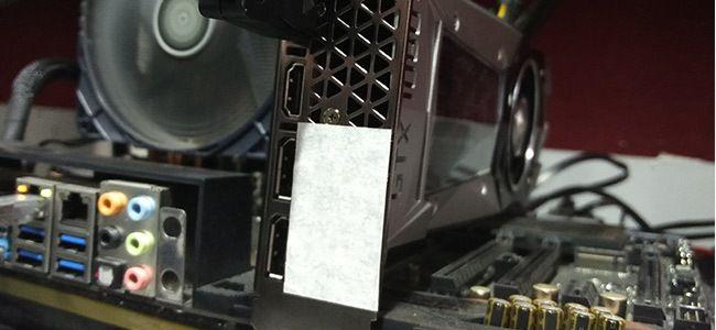 NVIDIA GeForce GTX 1080 Ti Graphics Card Temperature test