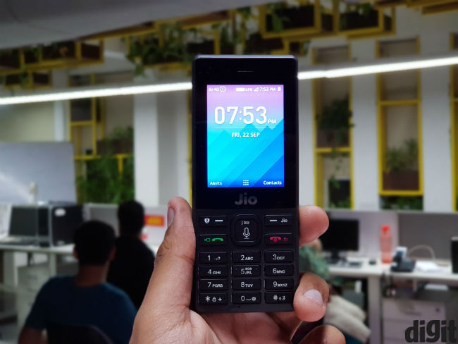 "A Smart jiophone first impressions: what exactly is a ""smart"" feature"