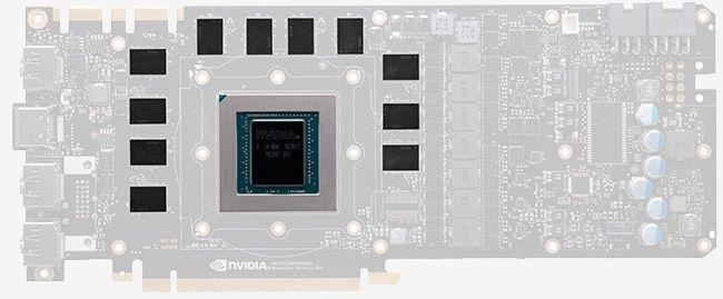 NVIDIA GeForce GTX 1080 Ti GP 102 GPU PCB Front