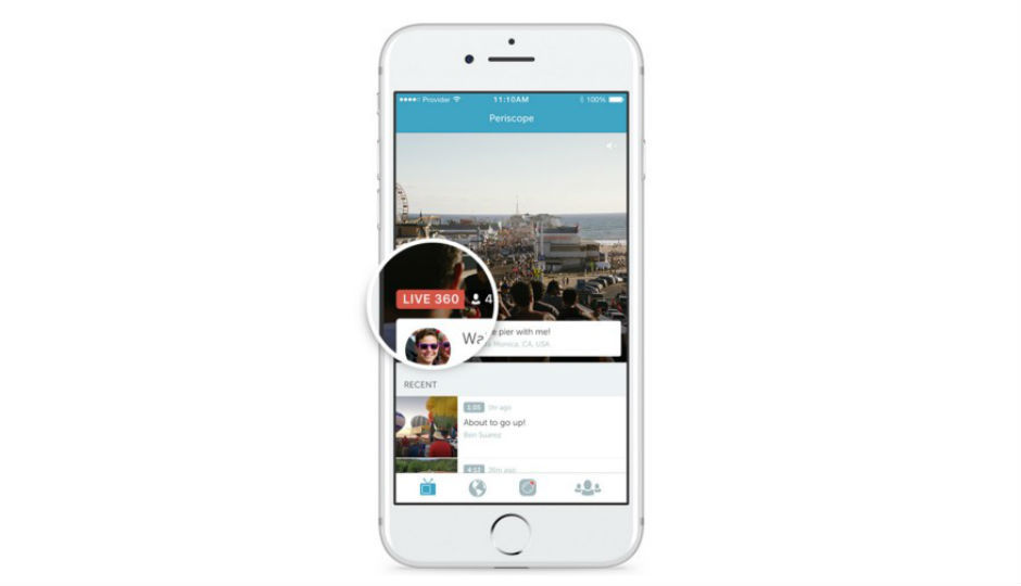 Twitter adds support for 360-degree live video streaming via Peri...