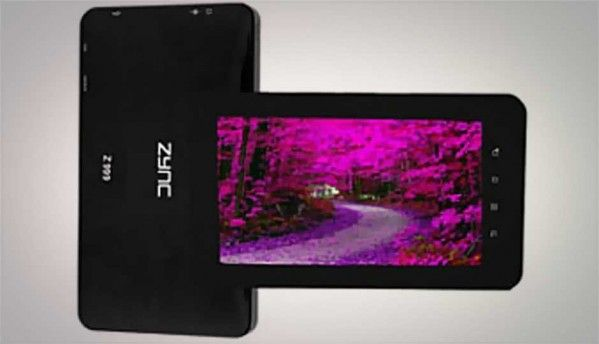 Zync launches ICS-based Z999 Plus tablet in India for Rs. 11,990