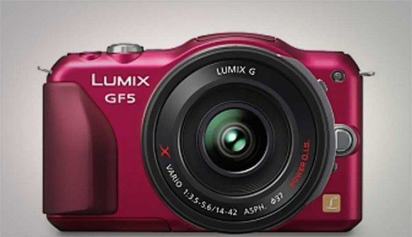 Panasonic announces Lumix DMC-GF5, with 12.1MP Live Mos sensor