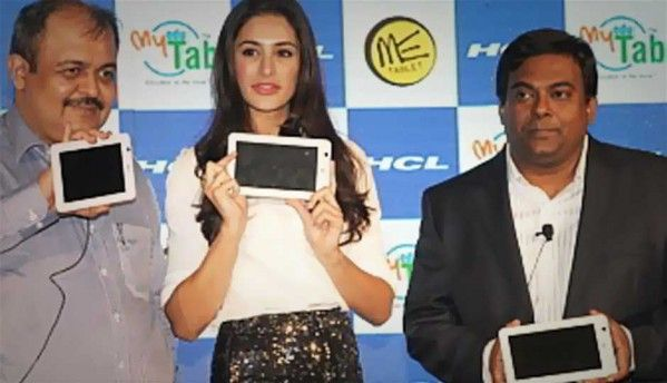 HCL unveils ICS tablet 'ME Tab U1' at Rs.7,999, with educational variants
