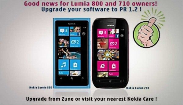 Nokia India rolls out PR v1.2 update for Lumia 710, 800 smartphones