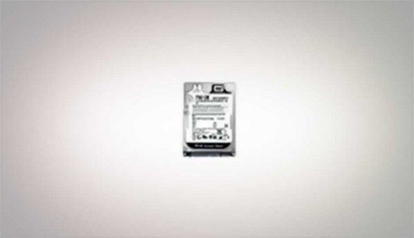 Western Digital Scorpio Black 750 GB WD7500BPKT - Black beauty
