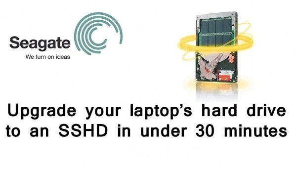 How to upgrade your laptop HDD to a SSHD in 30 minutes
