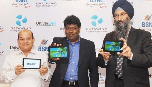 DataWind, BSNL tie up for free bundled data with Ubislate tablets