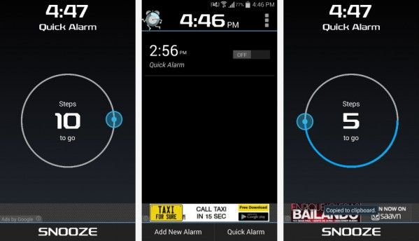 In Focus: Walk Me Up! Alarm app for Android