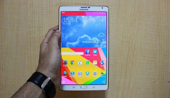 Hands-on: Samsung Galaxy Tab S 8.4, the iPad Mini challenger
