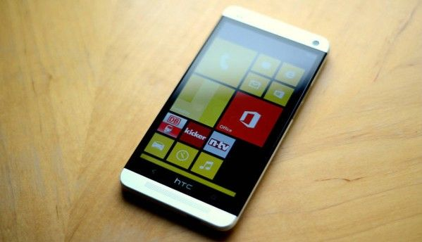 Is this new HTC One M8 a Windows Phone?