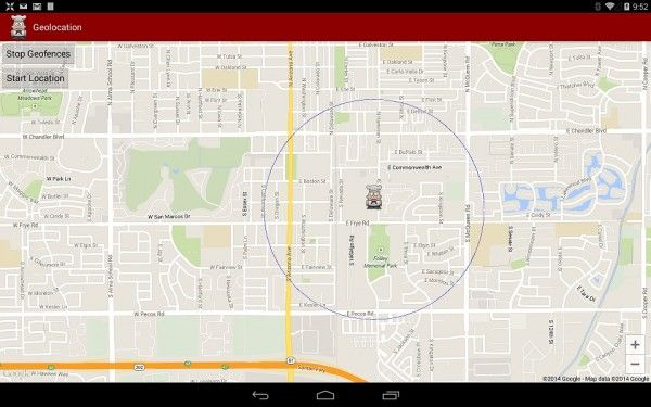 How to Implement map and geofence features in Android business apps
